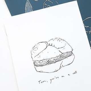 Illustration / Art Print Burger