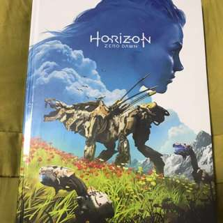 [In Hand] Horizon Zero Dawn Strategy Guide