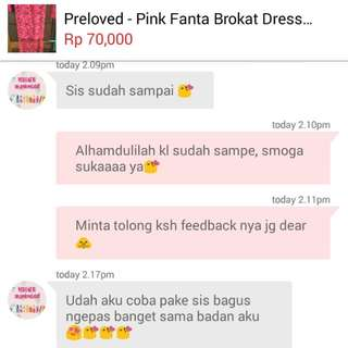 Testi From Lovely Buyer😘Trusted👍
