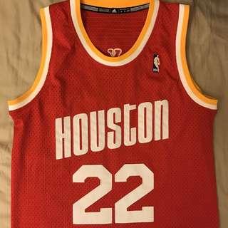 休士頓火箭 復古NBA球衣