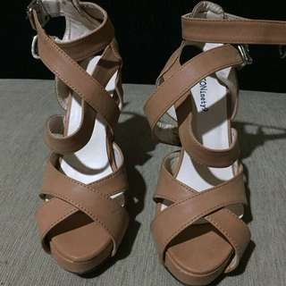Wedges brown Size 36