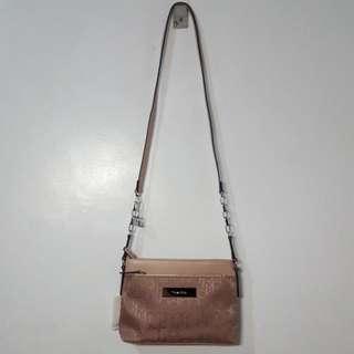 Calvin Klein Nude Pink Crossbody Bag