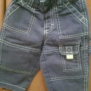 Preloved Cargo Jeans For Baby Boy