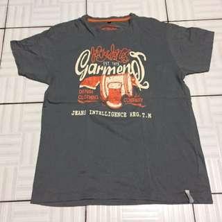 gray overruns jack and jones shirt