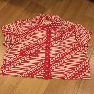 Croptop Batik