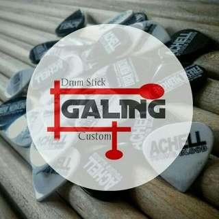 Drum stick custom bahan maple lokal (honje) 150rb/12 pasang. Dan ada juga bahan sawo 120rb/11pasang