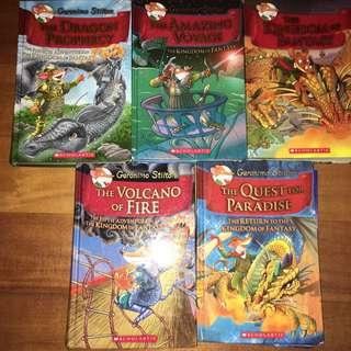 Geronimo Stilton:Kingdom Of Fantasy Book 1-5