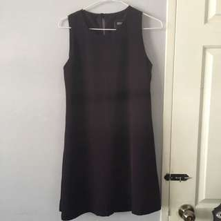 Basic Purple Shift Dress