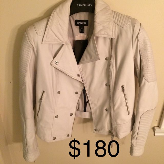 3 Danier Leather Jackets NWT