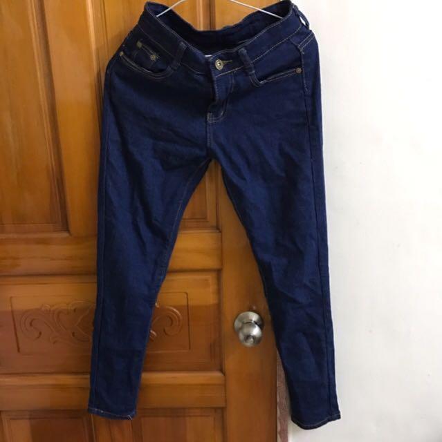 《8成新》牛仔直筒褲