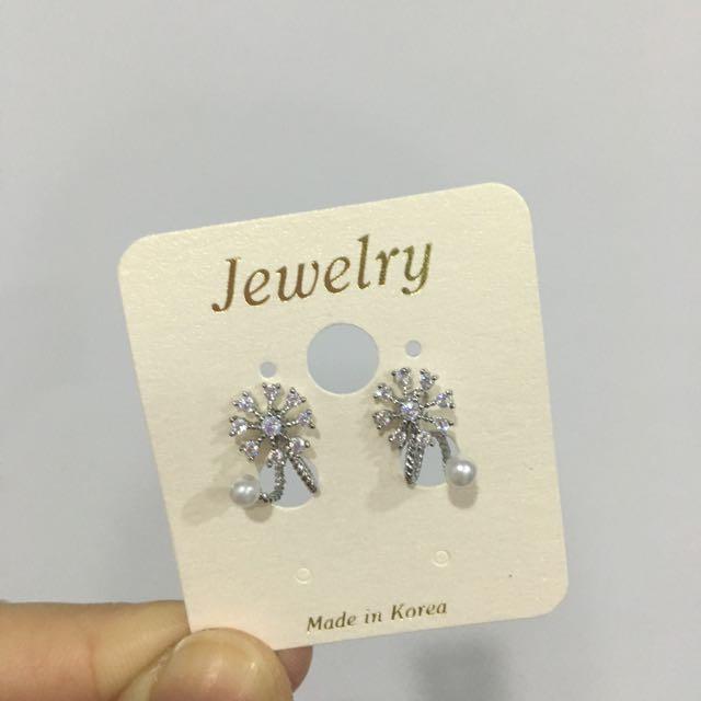全新韓國耳環