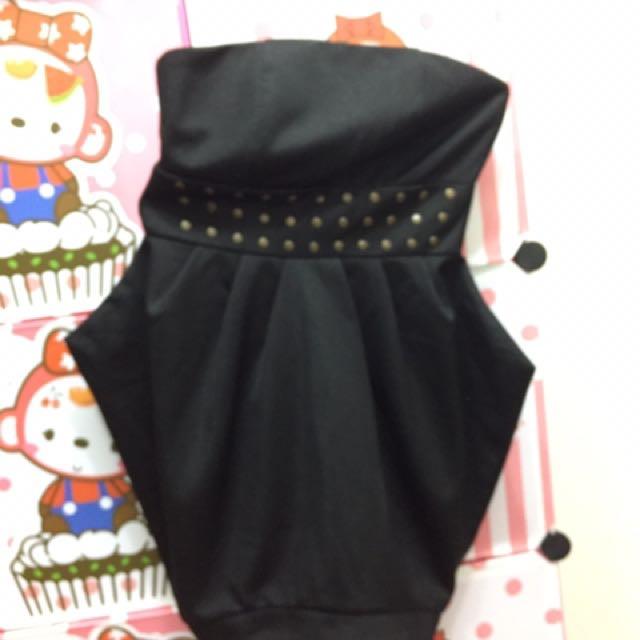 平口連身裙