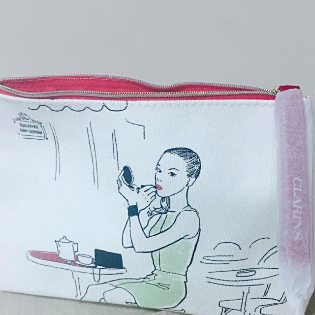 [贈品]克蘭詩化妝包