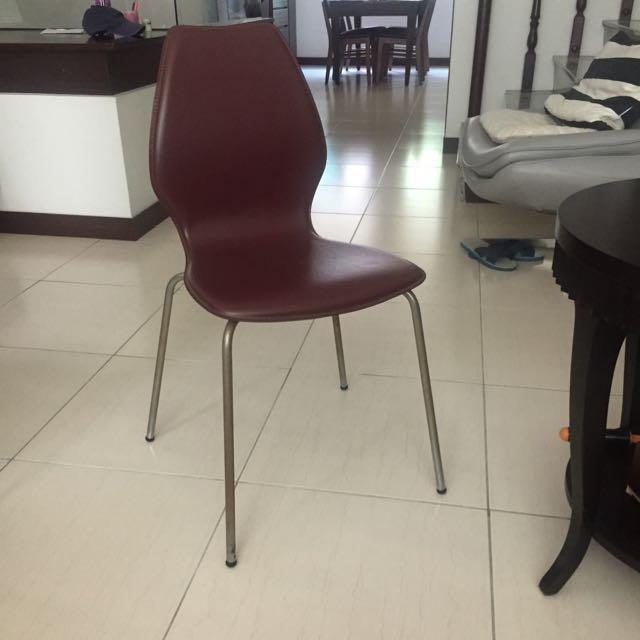 二手皮質餐椅/書桌椅 原價2800/一個