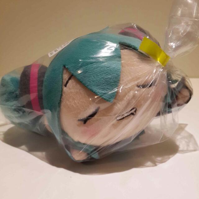 【日本空運】正版初音 睡覺初音 吊飾 公仔 娃娃 景品
