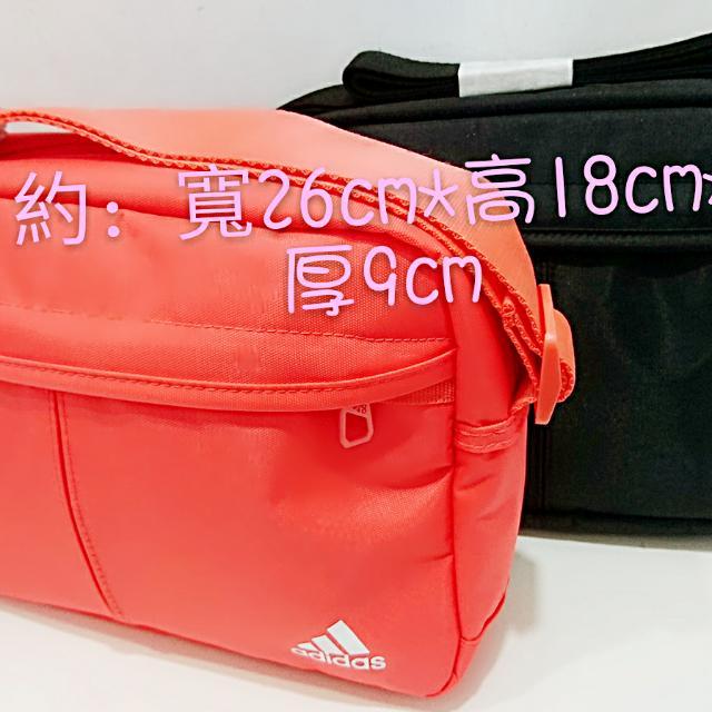 愛迪達經典包 尼龍耐用側背包 斜背包 adidas 2017新款 台灣公司正品 黑色中性款 男包包 女包包 全新 現貨