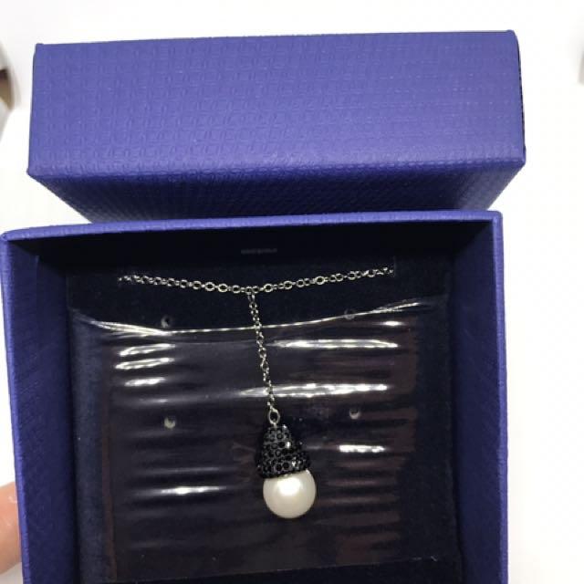 全新附盒施華洛世奇項鍊 swarovski necklace 40公分
