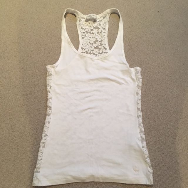 Abercrombie & Fitch Lace Back Top