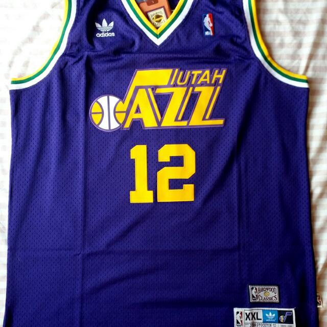 on sale 1adfd 37d61 discount utah jazz stockton jersey 44d46 8de59