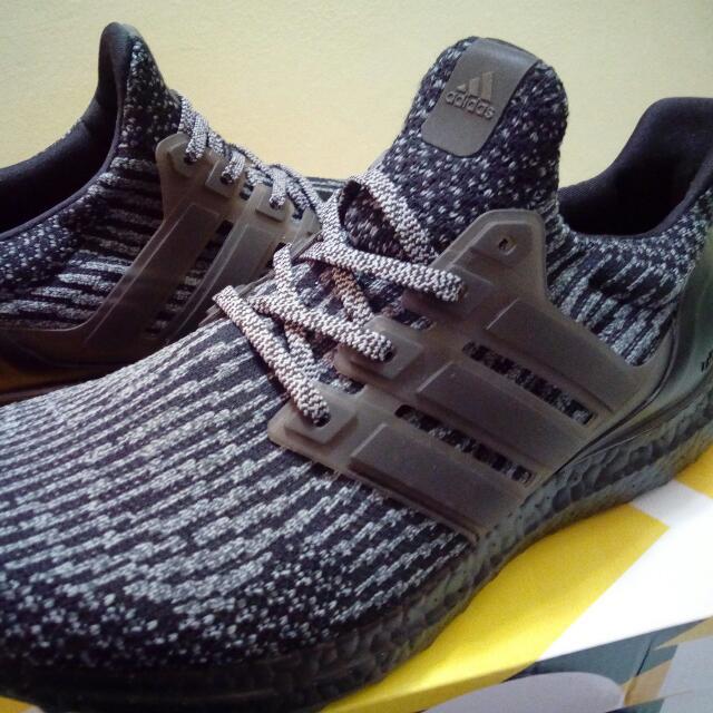 57f4f39a540ae Adidas Ultra Boost 3.0 Triple Black Silver