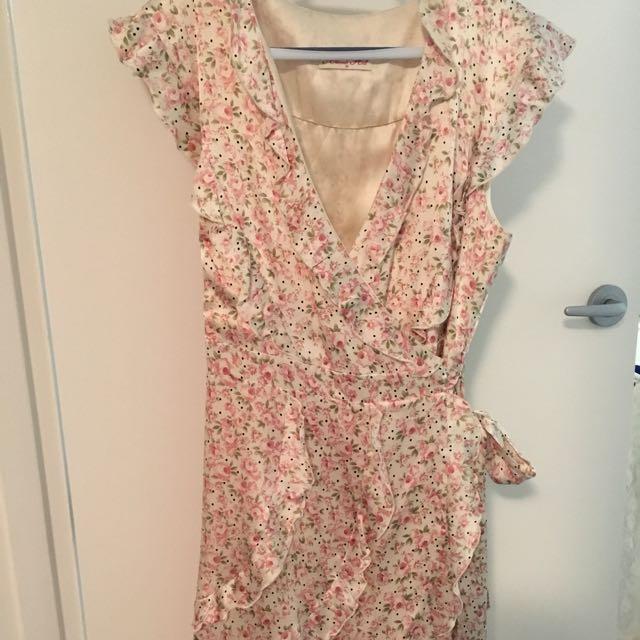 Alannah Hill Wrap Dress Size 12