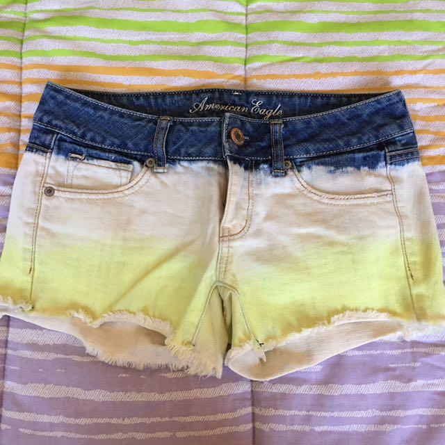 American Eagle Ombré Shorts