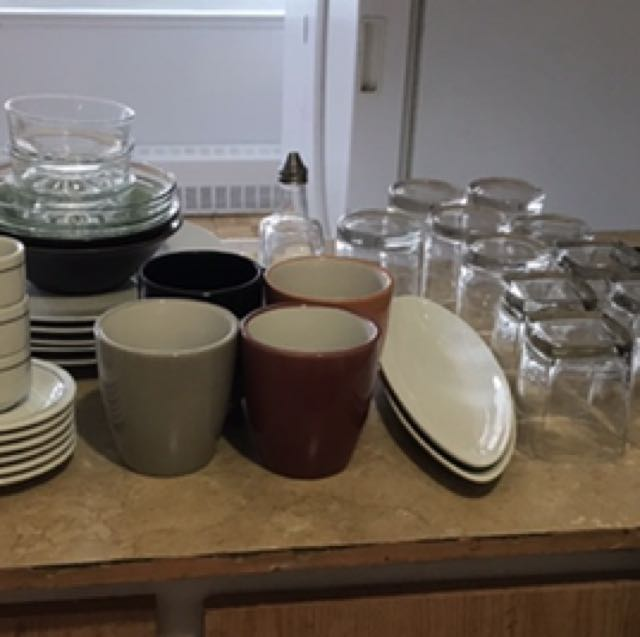 Assorted dinnerware lot for sale