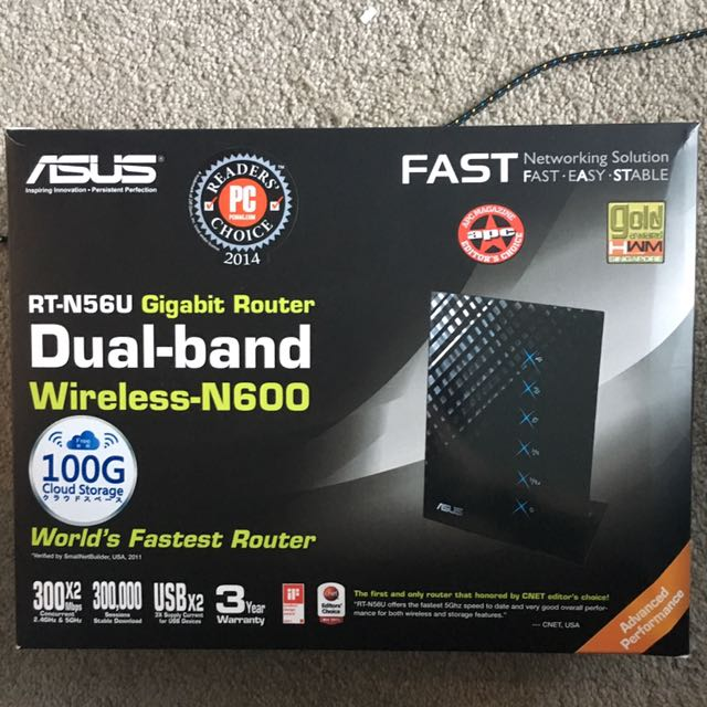 Asus RT-N56U Router Wireless Dual Band