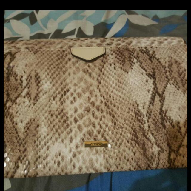 Authentic Aldo Pouch
