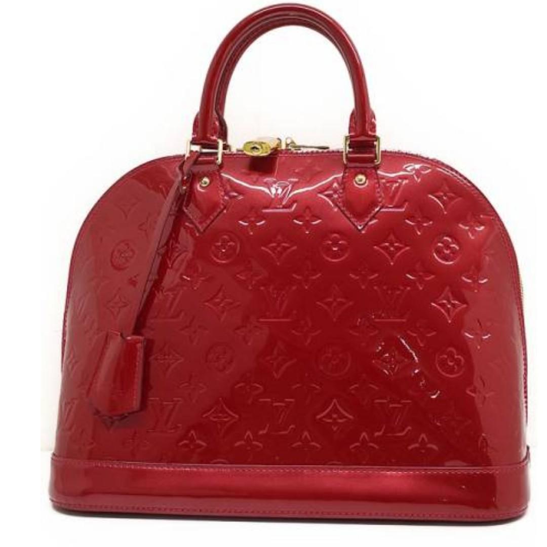 Authentic Louis Vuitton Alma Vernis MM