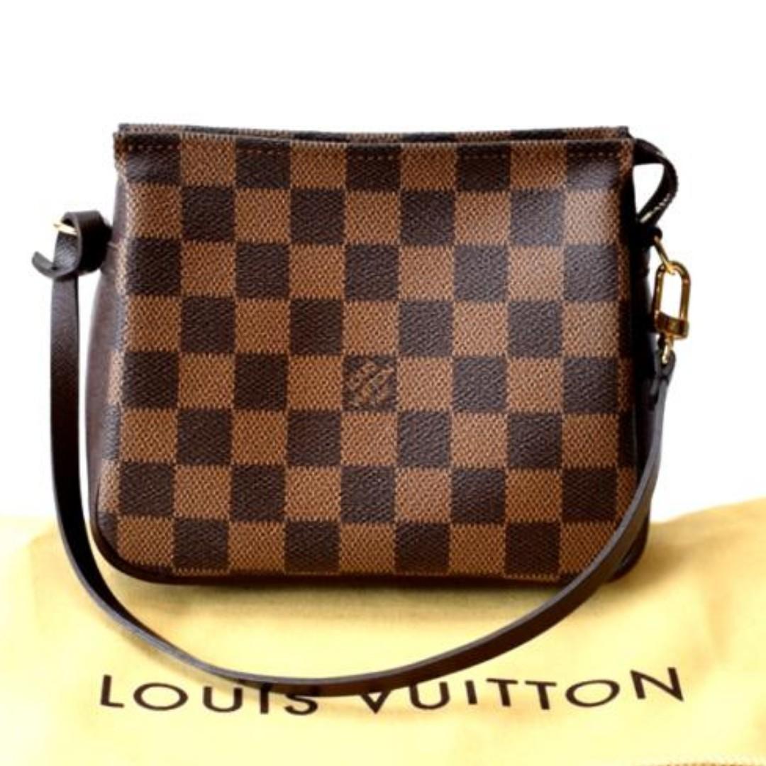 Authentic Louis Vuitton Trousse Damier