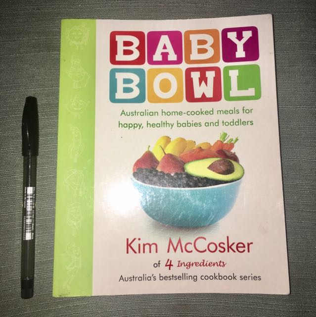 Baby Bowl Recipe Book