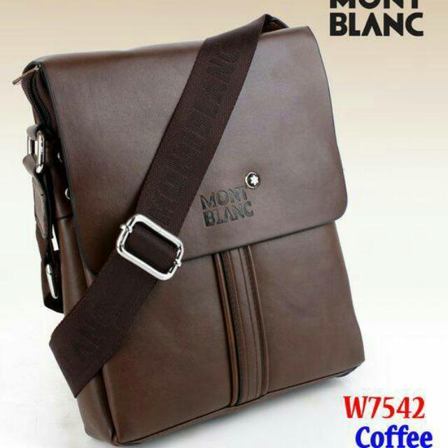 Bag Selempang Mont Blanc 2b325907d5