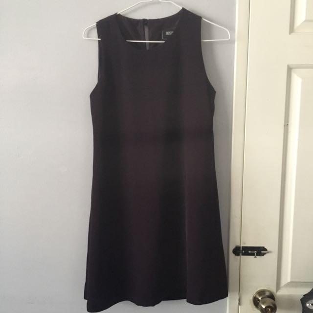 Basic Purple Shift Dress