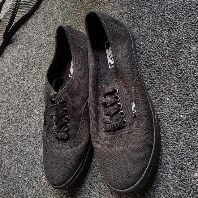 Black Slim Vans