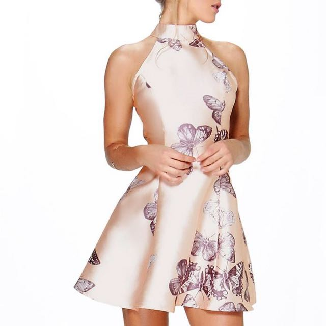 Boohoo Butterfly Dress