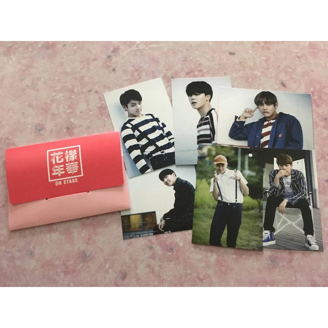 BTS HYYH Card