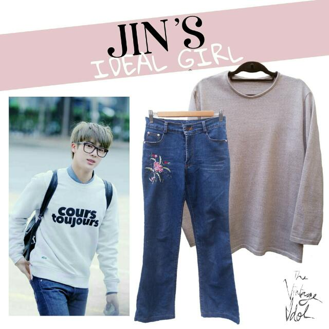 BTS Jin's Ideal Girl Style Set