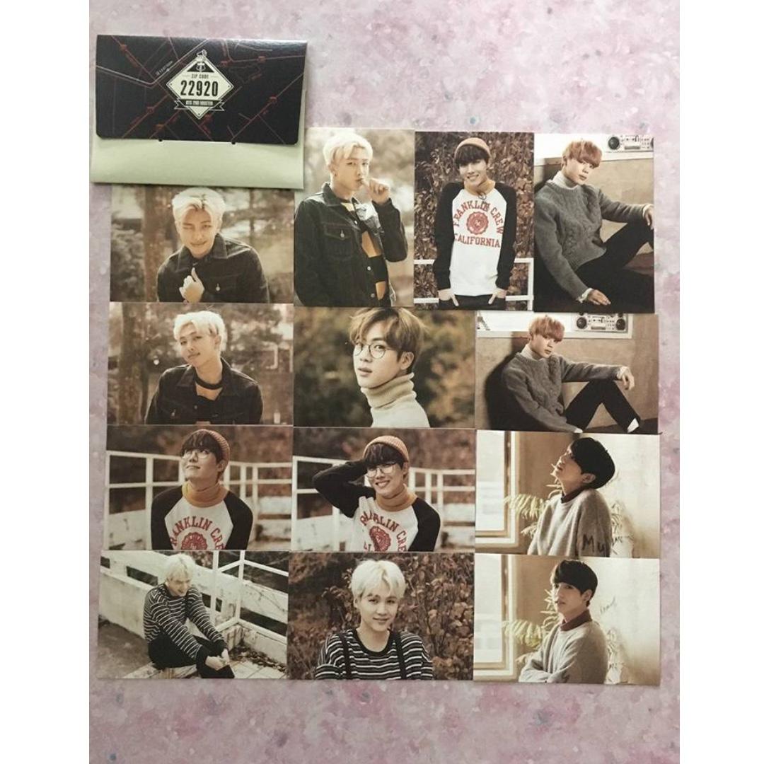 BTS Official 22920 Card