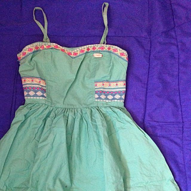Candies Green Summer Dress