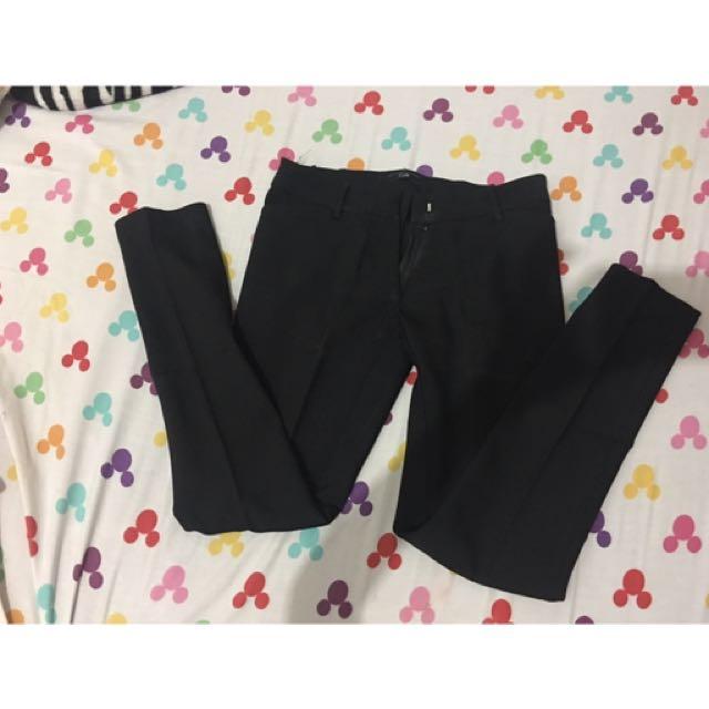 celana kerja hitam bahan merk cole