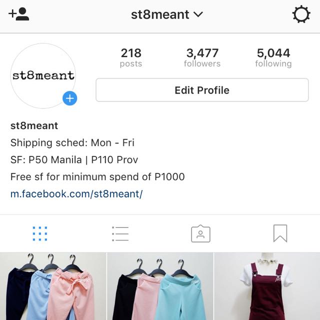 Check Out BRAND NEW ITEMS (Facebook & Instagram)