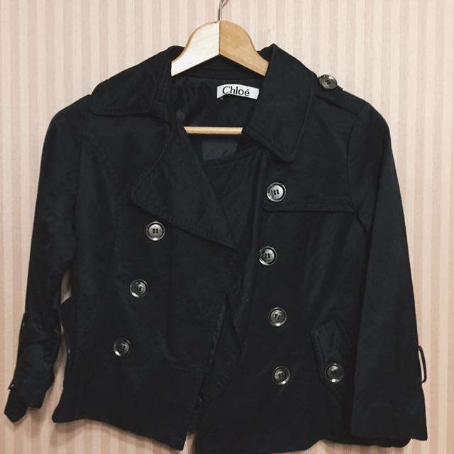 Chloé Black Jacket