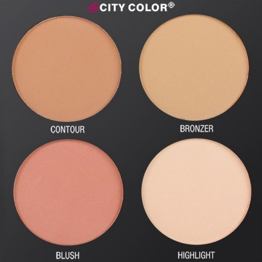 CITY COLOR CONTOUR & DEFINE PALETTE - (4 Shades)