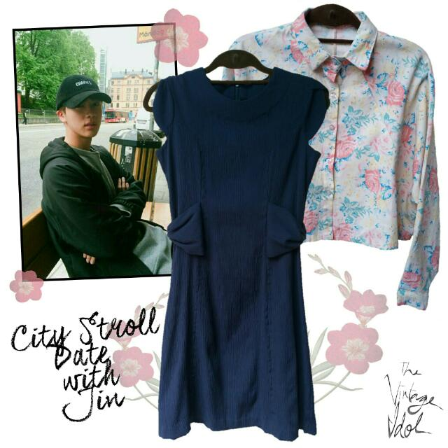City Stroll Date with Jin