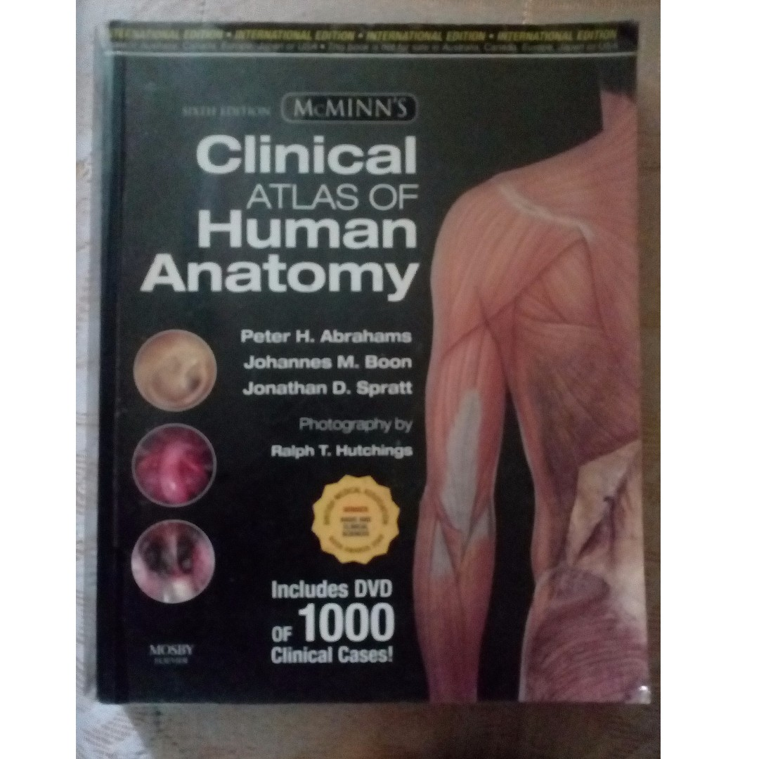 Clinical Atlas of Human Anatomy 6th Edition, Textbooks on Carousell