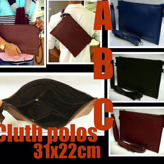 Cluth Polos / Hand Bag / Tas Selempang