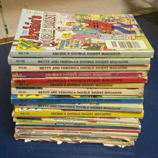 Collection Of 18 Archie Comics
