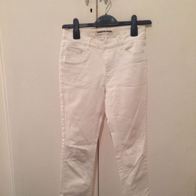 Country Road Skinny White Jeans Size 4