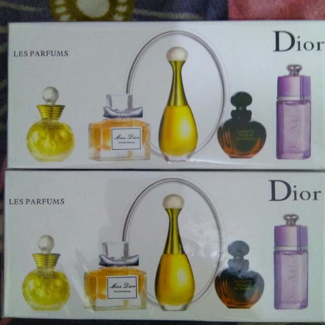 Dior香水5件組
